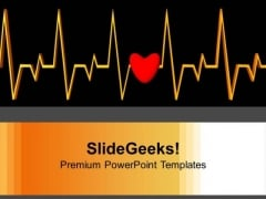 Heartbeat Medical Background PowerPoint Templates Ppt Backgrounds For Slides 0113