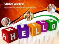 Hello Business PowerPoint Templates And PowerPoint Themes 0512
