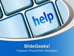 Help Other People In Problem PowerPoint Templates Ppt Backgrounds For Slides 0513