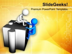 Help Others To Grow PowerPoint Templates Ppt Backgrounds For Slides 0713