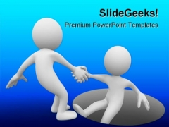 Helping Man Business PowerPoint Backgrounds And Templates 1210