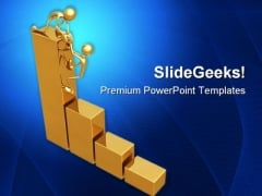 Helping People Business PowerPoint Templates And PowerPoint Backgrounds 0811