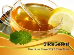 Herbal Tea Food PowerPoint Themes And PowerPoint Slides 0511