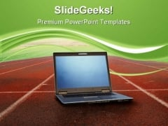 High Performance Computer PowerPoint Templates And PowerPoint Backgrounds 0711