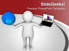 Hold The Computer Technolgies For Global PowerPoint Templates Ppt Backgrounds For Slides 0613