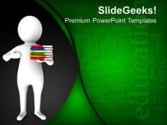 Hold Your Knowledge For Success PowerPoint Templates Ppt Backgrounds For Slides 0613