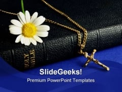 Holy01 Bible Religion PowerPoint Template 0610