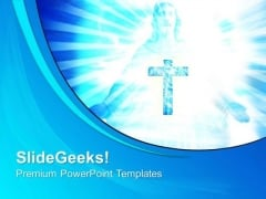 Holy Cruz Christian PowerPoint Templates And PowerPoint Themes 0812