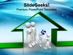 Home Family PowerPoint Templates And PowerPoint Themes 0812