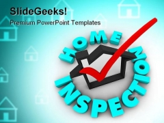 Home Inspection Realestate PowerPoint Backgrounds And Templates 1210