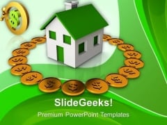 Home Insurance Finance PowerPoint Templates And PowerPoint Themes 1112