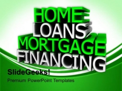 Home Loans Marketing PowerPoint Templates And PowerPoint Themes 0812
