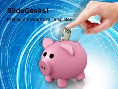 Home Savings Finance PowerPoint Templates And PowerPoint Themes 1112