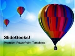 Hot Air Ballon Abstract PowerPoint Templates And PowerPoint Themes 0512