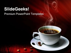 Hot Coffee Health PowerPoint Themes And PowerPoint Slides 0311