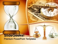 Hour Glass Business PowerPoint Templates And PowerPoint Themes 0612