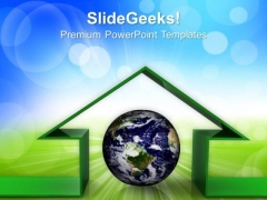 House Symbol Environment PowerPoint Templates And PowerPoint Themes 0912