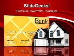 Household Expenses Real Estate PowerPoint Templates And PowerPoint Backgrounds 0611