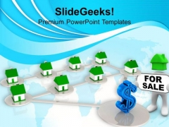 Houses For Sale Marketing PowerPoint Templates Ppt Backgrounds For Slides 0313