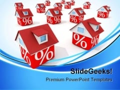 Houses Real Estate PowerPoint Themes And PowerPoint Slides 0711