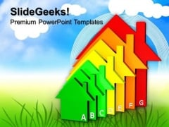 Housing Energy Efficiency Environment PowerPoint Templates And PowerPoint Themes 0812