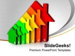 Housing Energy Efficiency Environment PowerPoint Templates Ppt Backgrounds For Slides 1212