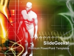 Human Body Science PowerPoint Themes And PowerPoint Slides 0211