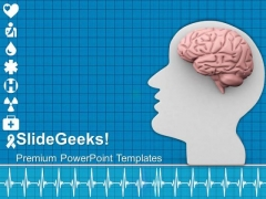 Human Brain Is Power House Of Body PowerPoint Templates Ppt Backgrounds For Slides 0613