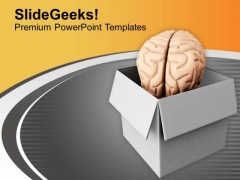 Human Brain Is Source Of Ideas PowerPoint Templates Ppt Backgrounds For Slides 0713