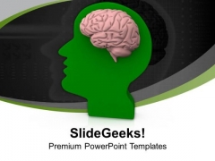 Human Brain Is Very Competetive PowerPoint Templates Ppt Backgrounds For Slides 0613