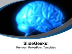 Human Brain Is Very Fast PowerPoint Templates Ppt Backgrounds For Slides 0613
