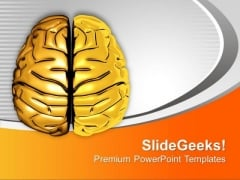 Human Brain Is Very Intelligent PowerPoint Templates Ppt Backgrounds For Slides 0513