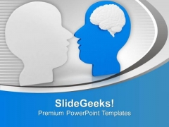 Human Brain Is Very Sharp PowerPoint Templates Ppt Backgrounds For Slides 0613