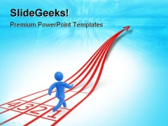 Human Contest Leadership PowerPoint Themes And PowerPoint Slides 0711