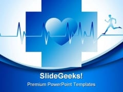 Human Running Medical PowerPoint Templates And PowerPoint Backgrounds 0311