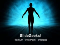 Human Science Technology PowerPoint Themes And PowerPoint Slides 0711