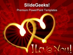 I Love You Wedding PowerPoint Themes And PowerPoint Slides 0911