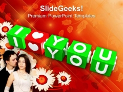 I Love You Youth PowerPoint Templates And PowerPoint Themes 1012
