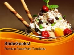 Ice Cream Food PowerPoint Templates And PowerPoint Backgrounds 0311