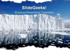 Iceberg Nature PowerPoint Backgrounds And Templates 1210