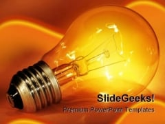 Idea Business PowerPoint Template 0810