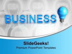 Idea Concept Business PowerPoint Templates Ppt Background For Slides 1112