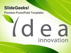 Idea Innovation Future PowerPoint Template 1110