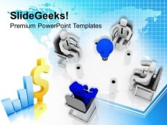 Idea To Grow Your Business PowerPoint Templates Ppt Backgrounds For Slides 0513