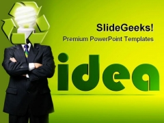 Ideas In The New Business PowerPoint Templates And PowerPoint Backgrounds 0211