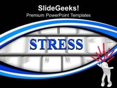 Illustration Of Depressed 3d Men PowerPoint Templates Ppt Backgrounds For Slides 0213