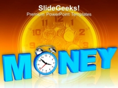 Image Of Time Value And Money PowerPoint Templates Ppt Backgrounds For Slides 0113