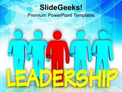Improve Your Leadership Skills PowerPoint Templates Ppt Backgrounds For Slides 0713