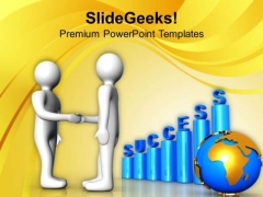 Improving Business And Signing The Deal PowerPoint Templates Ppt Backgrounds For Slides 0713