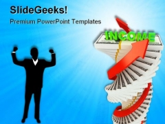 Income Growth Business PowerPoint Themes And PowerPoint Slides 0611